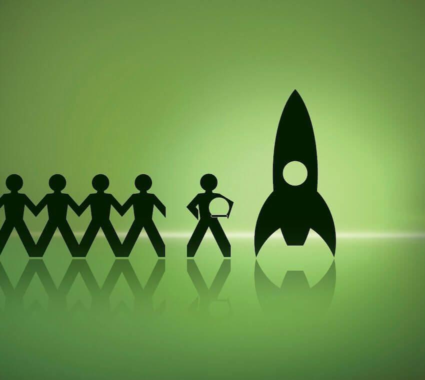 Rakete - Spezial-Gründerpaket