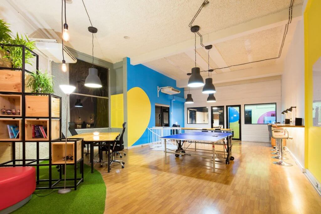 Start-up Büro einrichten